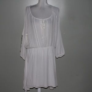 Charlotte Russe white rayon dress SZ 2X